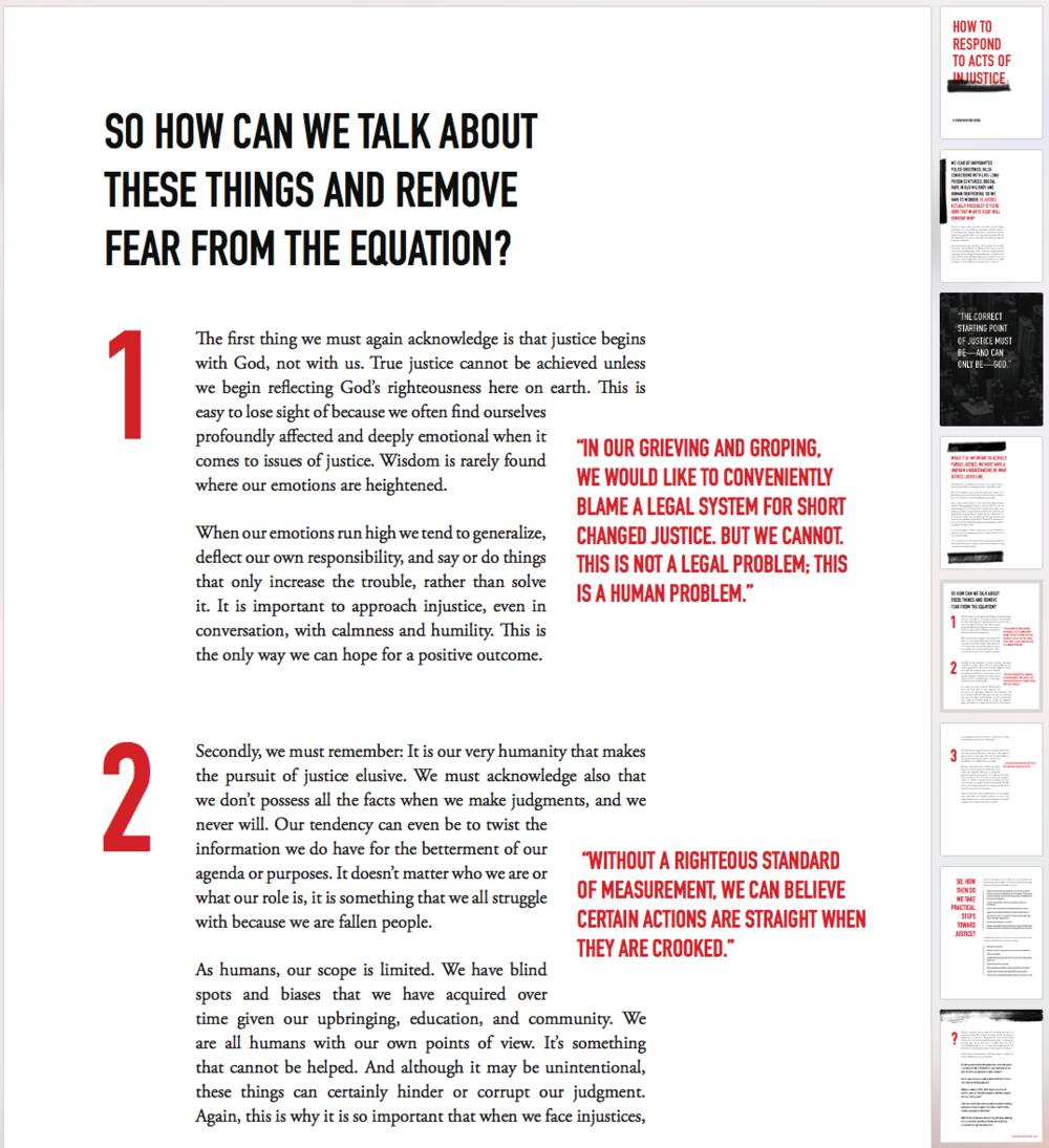Downloadable conversation guide for the Moody Publishers book  Is Justice Possible.