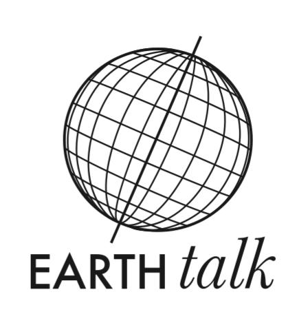 Variant logo design for the University of Arkansas Little Rock's Earth Talk lecture series.