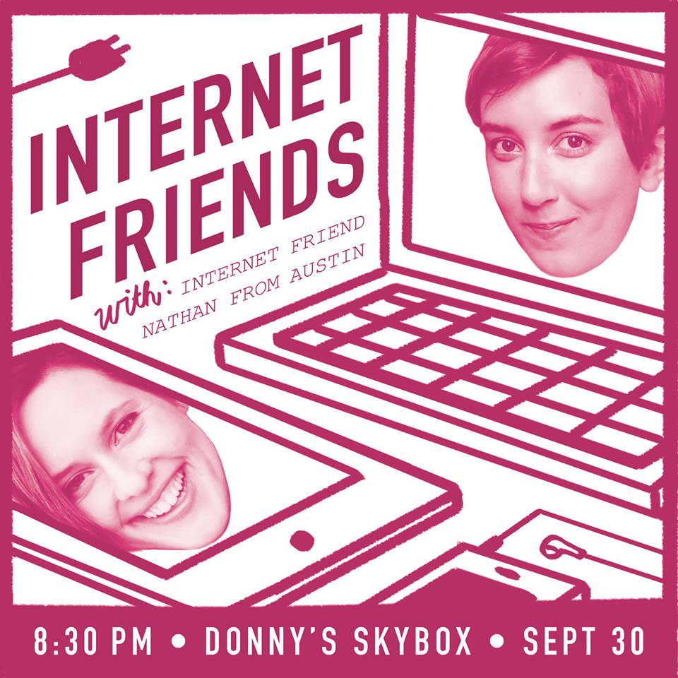 Internet Friends show promo materials.