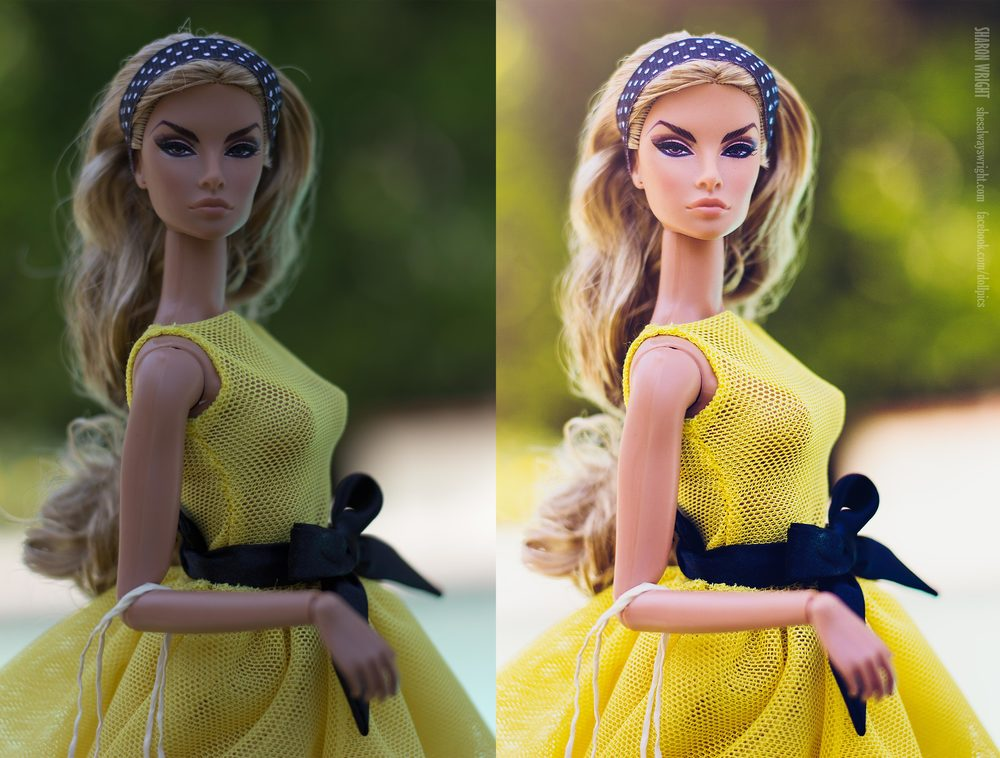 Brazen Beauty Natalia Fatalé - one of my all time favorite Integrity Toys ladies. She is from the 2013 convention (my first, and favorite, convention of theirs) Dress by Ursi Sarna