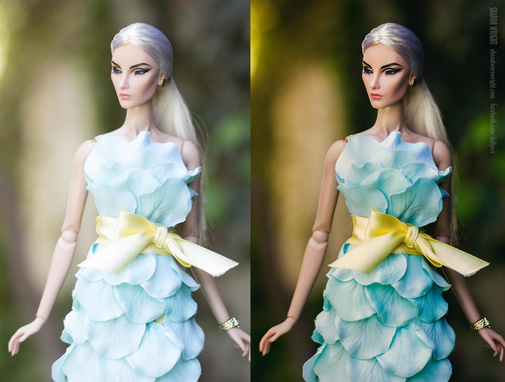 Intrigue Elise Jolie by Integrity Toys, from the 2014 convention Dress by Ginny Liezert