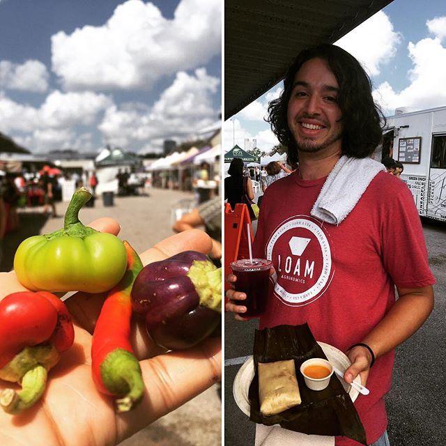 As always thanks to everyone that helped us sell out today 🙏🏽 we love you and truly appreciate you ❤️😊🙌🏽 TOMORROW we'll be @eestreetmarket ⚓️ 10a-2p ⏰ & @revolucionhtx 🍎🍊🍋 11a-2p ⏰ and @loamagronomics provided us with some beautiful peppers 🌶 for one of tomorrow's flavors ☝🏽😌PICADILLO: non-gmo beefless ground. local organic assorted LOAM peppers. potatoes. organic corn. sweet potato. onion. tomato. manzano peppers. habanero peppers. red jalapeno peppers. red jalapeno peppers. serrano peppers. poblano peppers. jalapeno peppers. garlic. ground chiltepe peppers. smoked paprika. EVOO. OBP. SS.