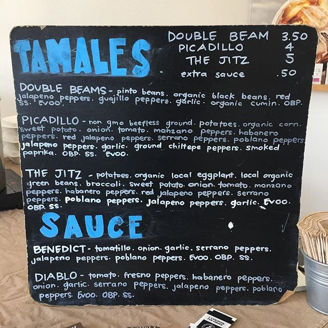 MENU AT @revolucionhtx RIGHT NOW! 😱💨 We've still got plenty here AND Btw, our stock at the @eestreetmarket is down to Double Beam only 👎🏼 We definitely recommend contacting us to hold yours before its too late! 😺👍🏽