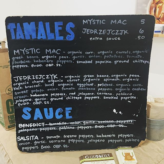 TODAYS RAINY DAY MENU!  The rain has started coming down over here in the Heights around @revolucionhtx, but dont you worry ☝🏽 We're still here inside @revolucionhtx at 1231 W 11th with tamales just for YOU. These bad boys keep super well & make excellent bunker-down food for times like these! Contact us to hold your very own for pickup before 11 📲 832-693-3948 👌🏽