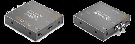 HDMI to SDI and SDI to HDMI converters