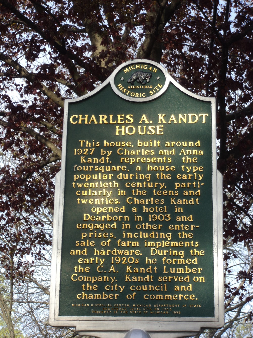Charles Kandt House Dearborn
