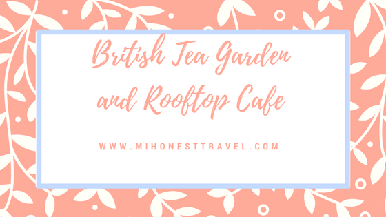 Please do stop in for a bite to eat and a spot of tea!