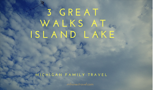 Island Lake State Recreation Area is a Walker's Paradise.