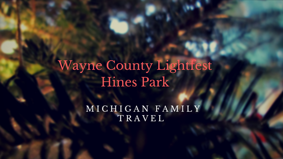 Wayne County Lightfest Hines Park