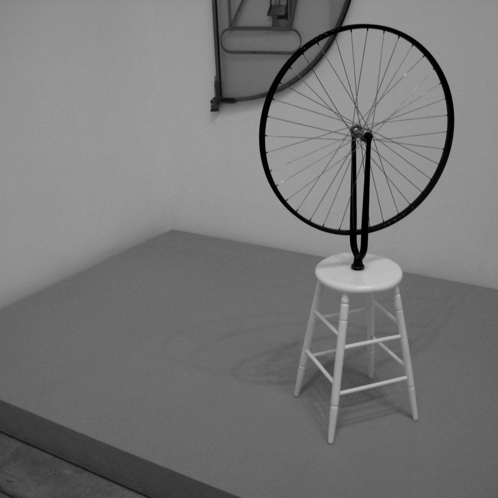 13_C_Marcel Duchamp -  Bicycle Whell (replica of 1913 original)-kvadrat.jpg