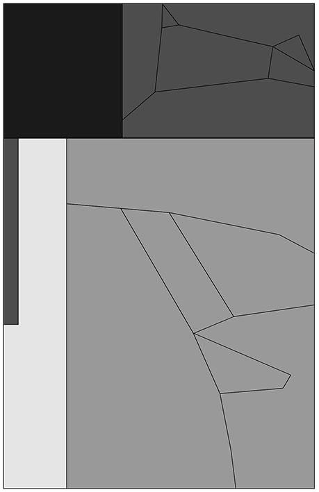 Dark Matter Halo - pattern layout