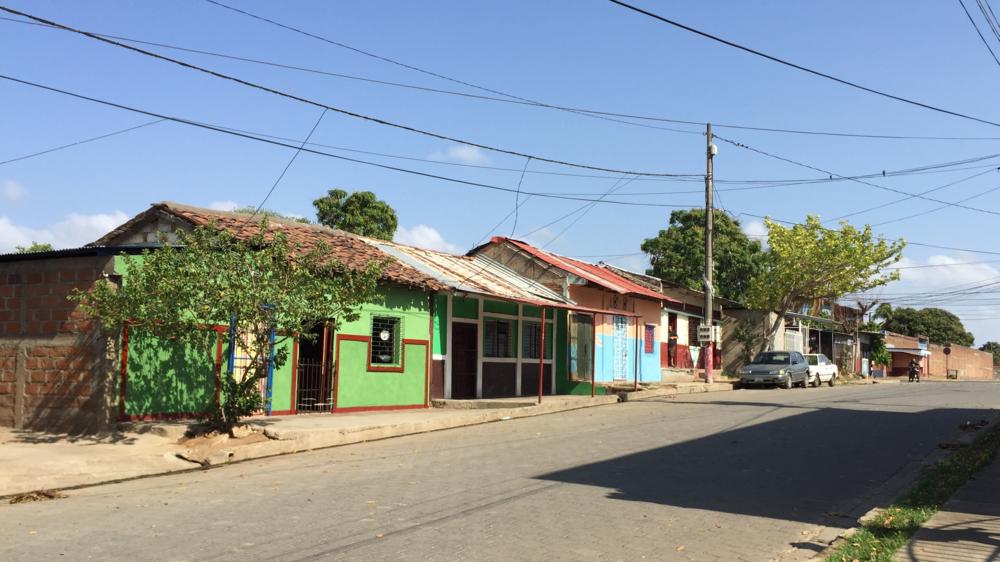 A neighborhood in Granada, Nicaragua.