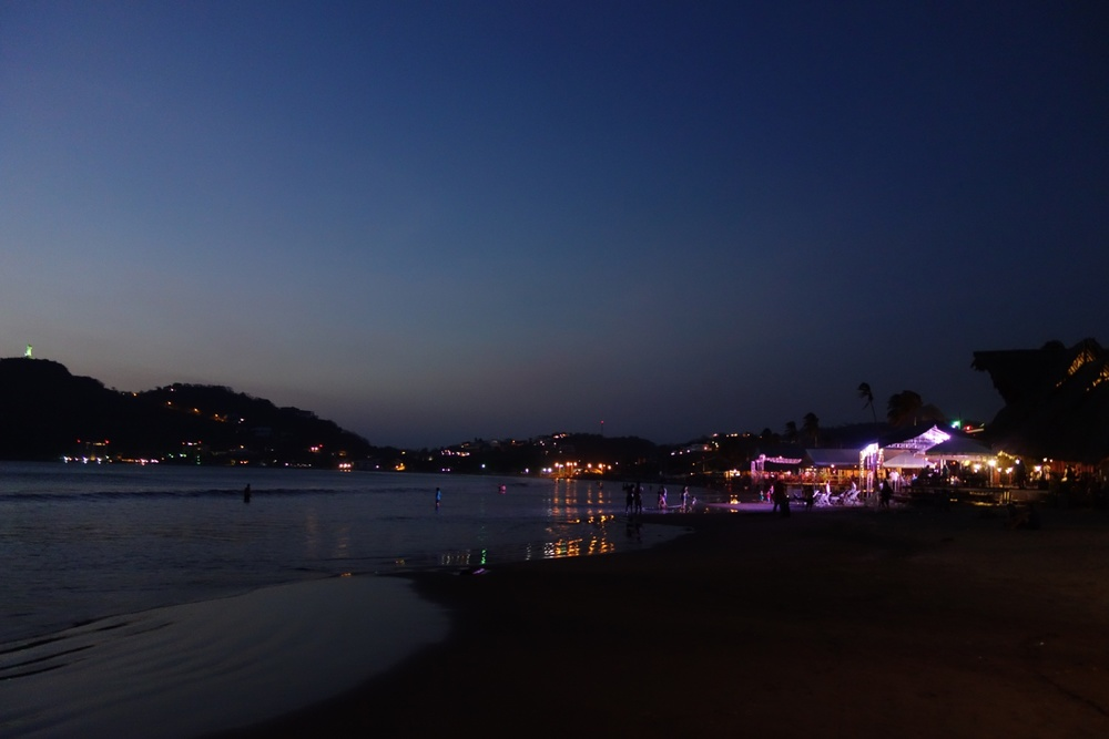 san-juan-del-sur-night