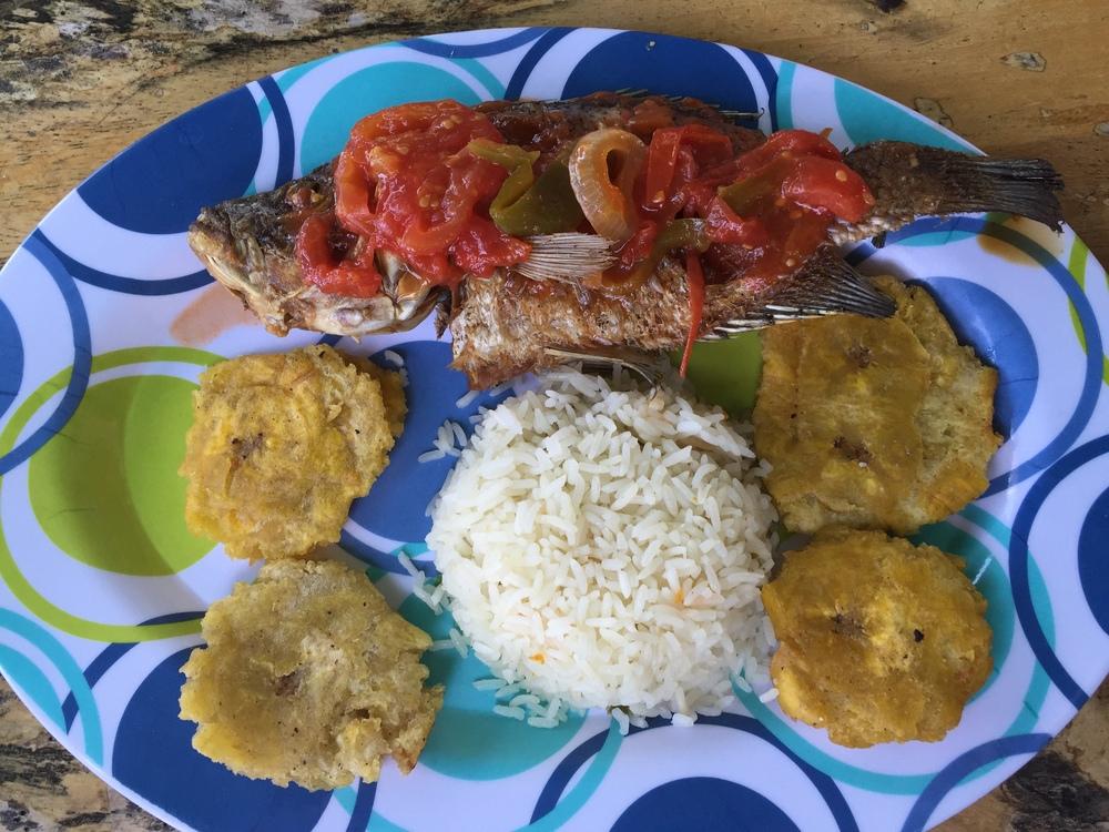 fish-plantains