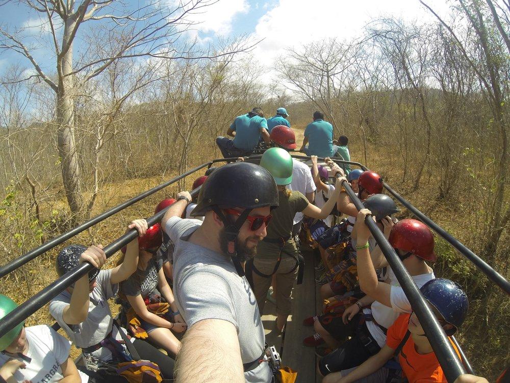 √ Zipline in Nicaragua