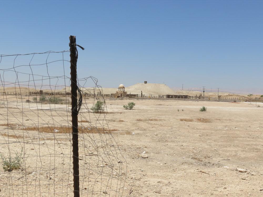 Qasr al-Yahud  Israeli-Jordanian border