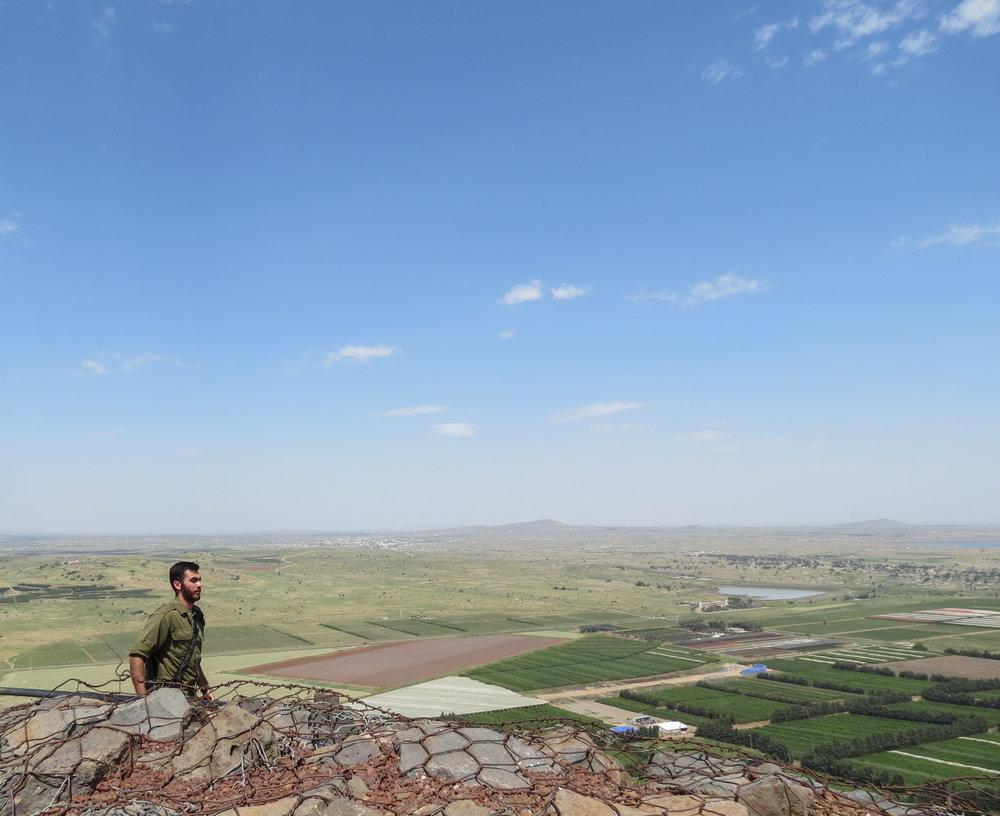 Israeli-Syrian Border