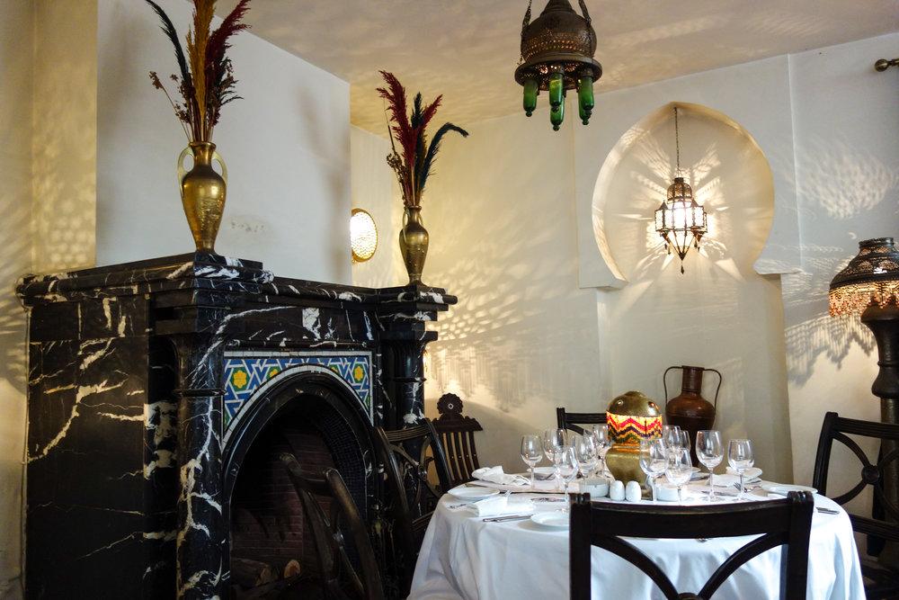 Rick's Cafe, Moroccan architecture, Casablanca.