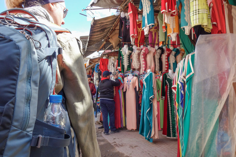 Many shops in Rabat's medina offer fixed prices, making it a more hassle-free experience for foreigners not wanting to haggle.