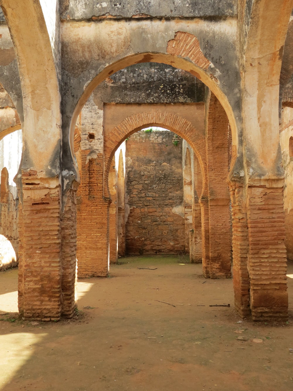 Things to do in Rabat, Morocco: visit the Roman ruins at Chellah.