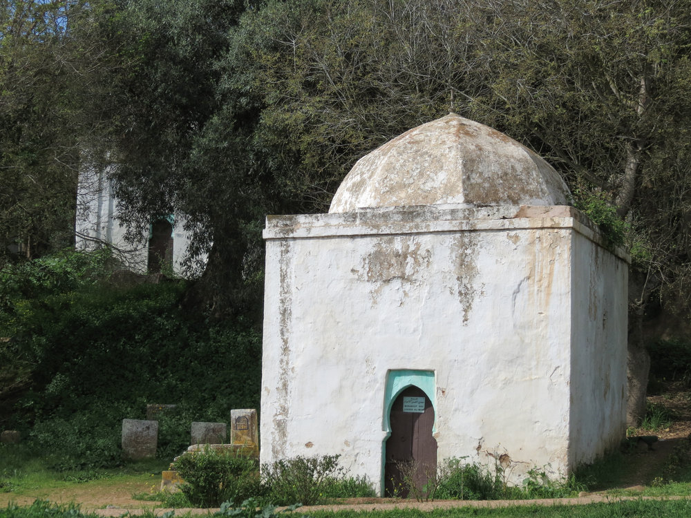 Chellah is not only a Roman ruin and ancient Phoenician settlement, but an Islamic burial site.