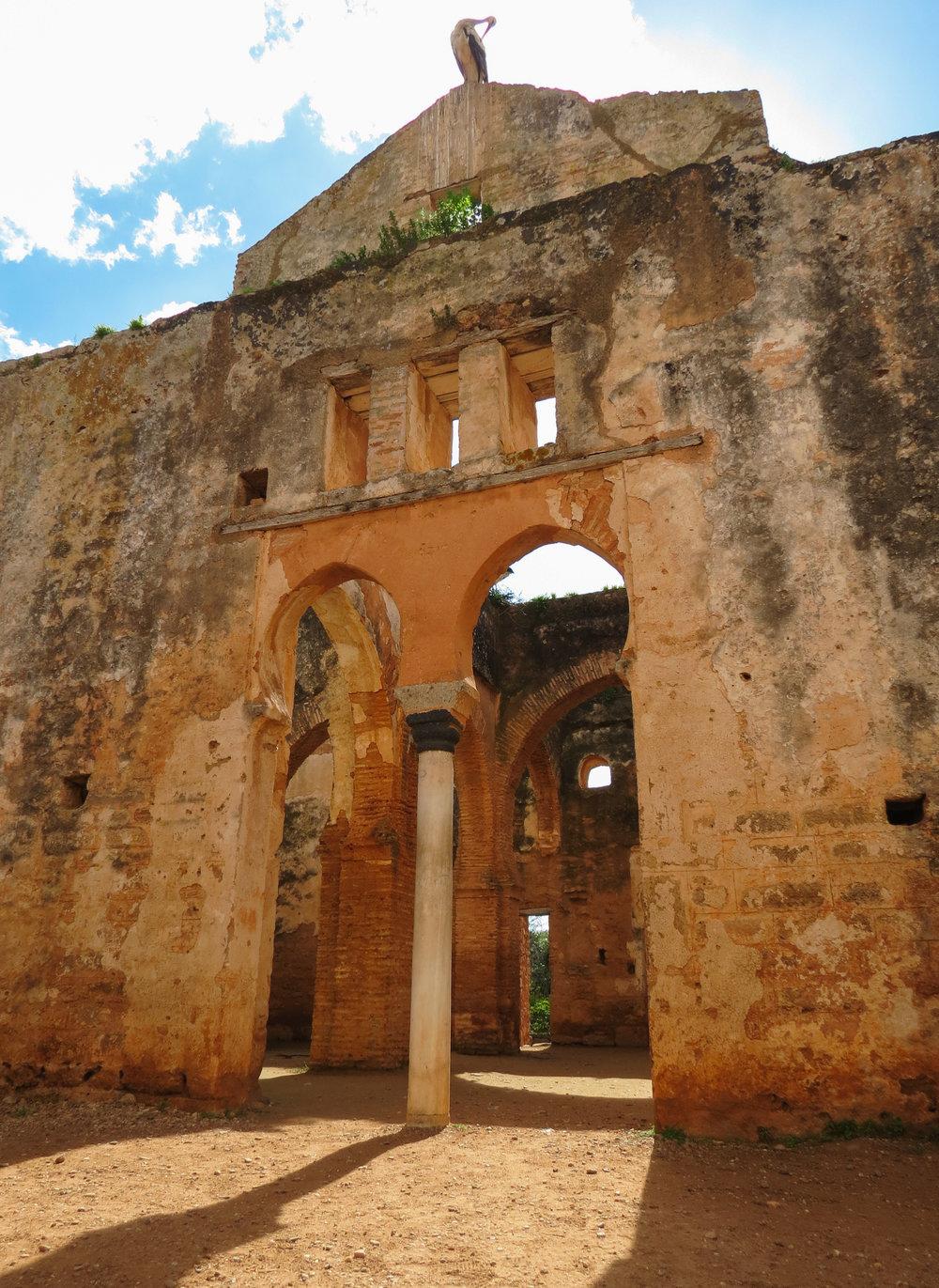 The ruins at Rabat, Morocco.