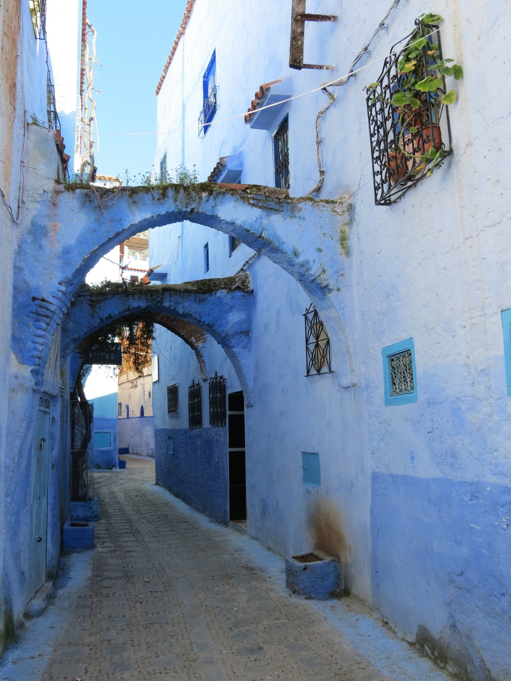 "Visit Morocco's ""Blue City,"" Chefchaouen."