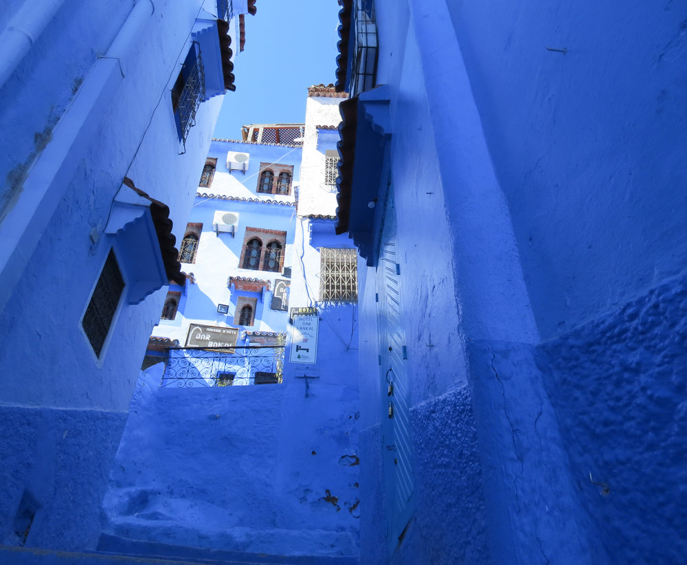A warm, inviting guest house in Chefchaouen, Morocco, Dar Lbakal provided us a relaxing getaway.