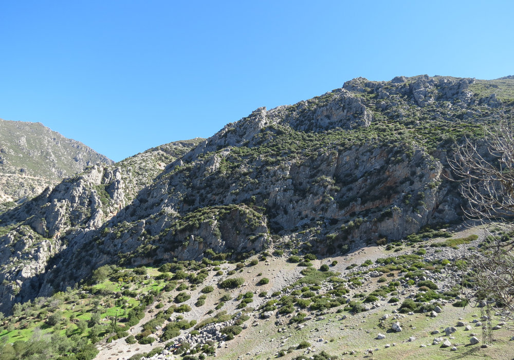 Hike along the Rif Mountains in Morocco.