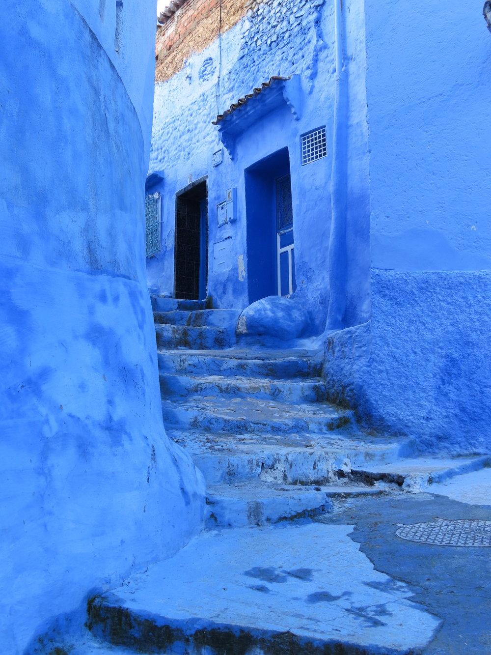 Morocco's blue city, Chefchaouen.