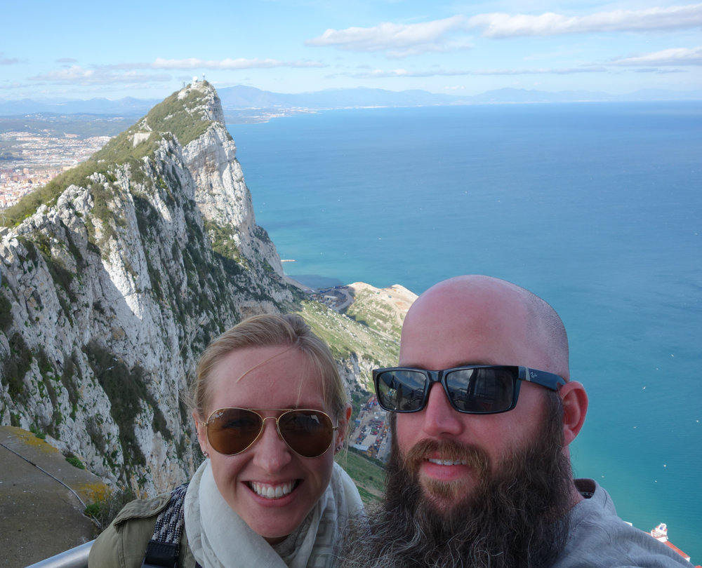 Gabriel and Sarah Sams explore the Rock of Gibraltar for their travel blog, the White Blank Page.