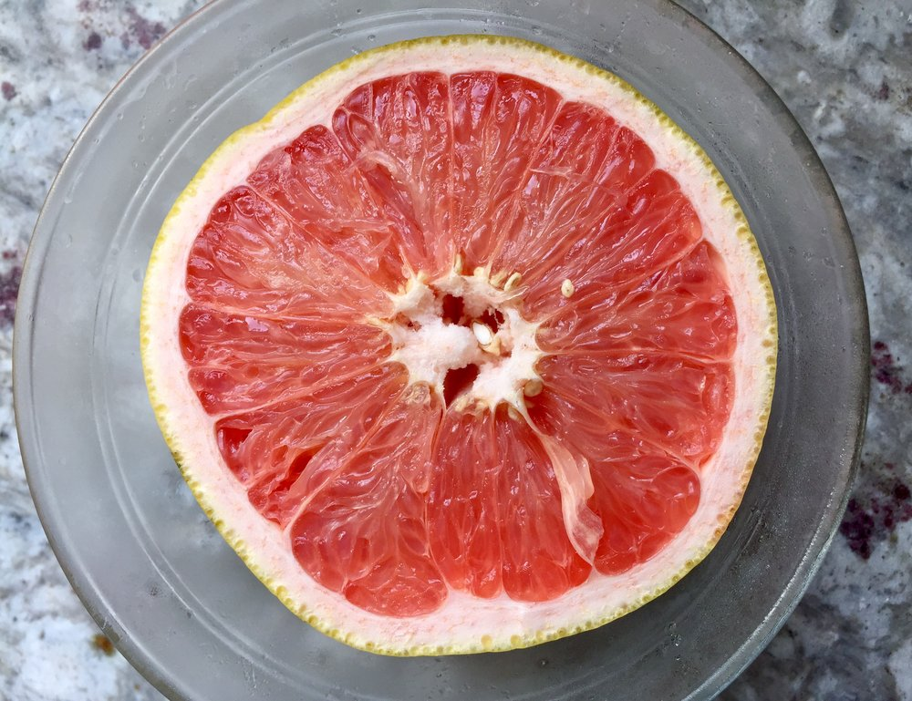 Shortly after moving to Dakar, we discovered on of our favorite fruits to buy was grapefruit.