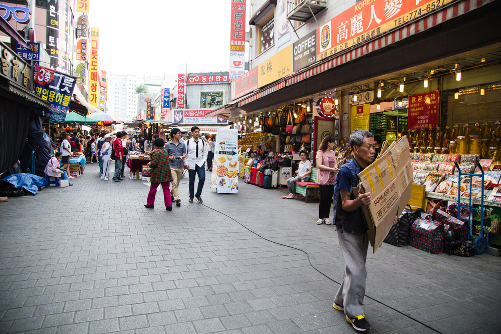 Namdaemun Market: largest market in Korea