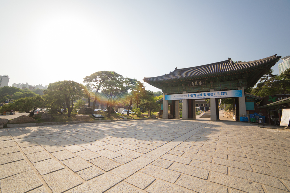 Final stop for the day was Bongeunsa Temple 봉은사. Built in 794 CE during the Joseon Dynasty it was the largest Buddhist temple in Seoul. It was super relaxing just walking through the shade or meditating inside of the many temple houses.