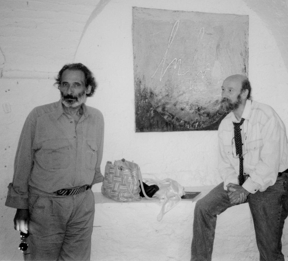 con Tullio Catalano, 1998