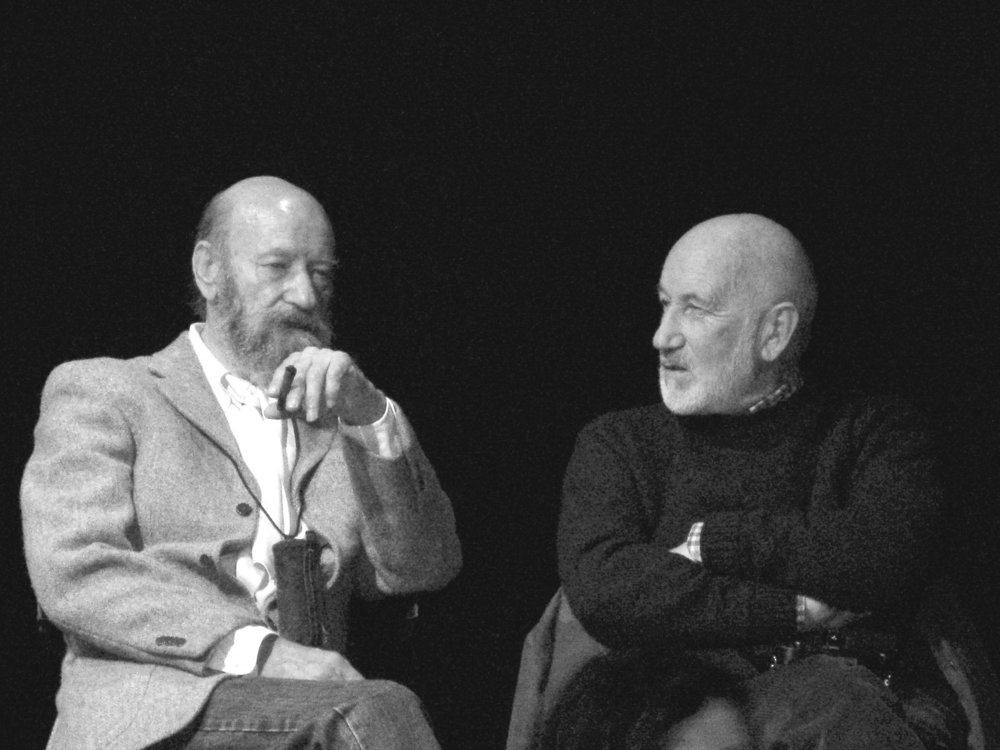 con Gianni Berengo Gardin, 2007