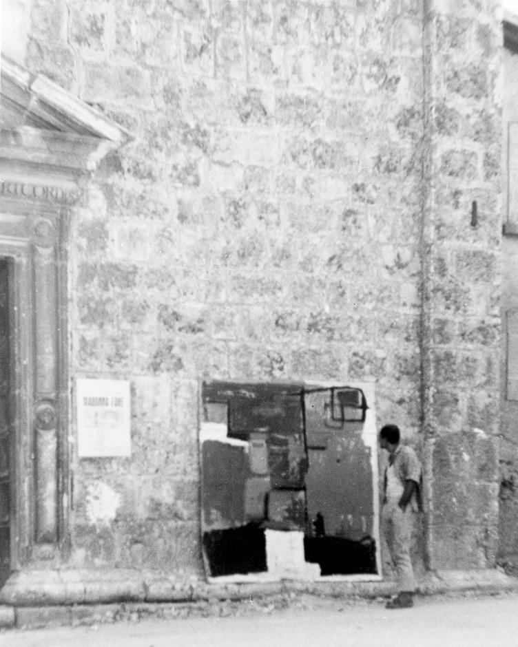 L'Aquila, 1956, pittura informale
