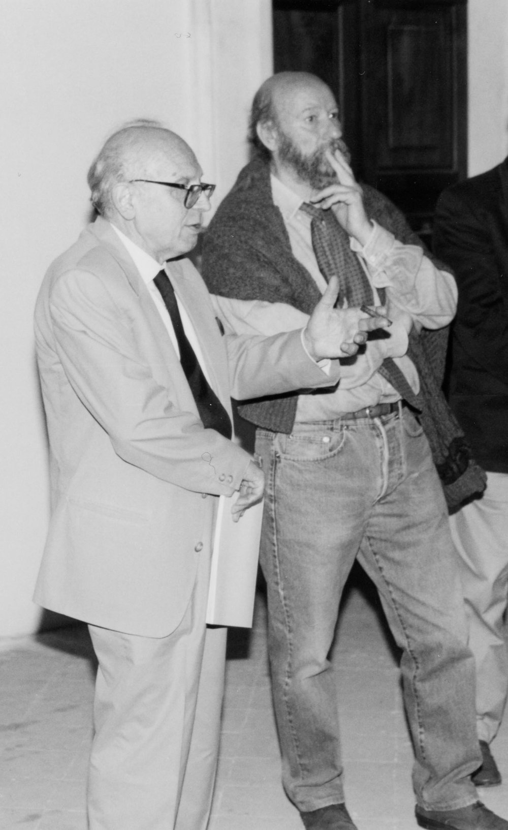 con Vito Apuleo, 1997