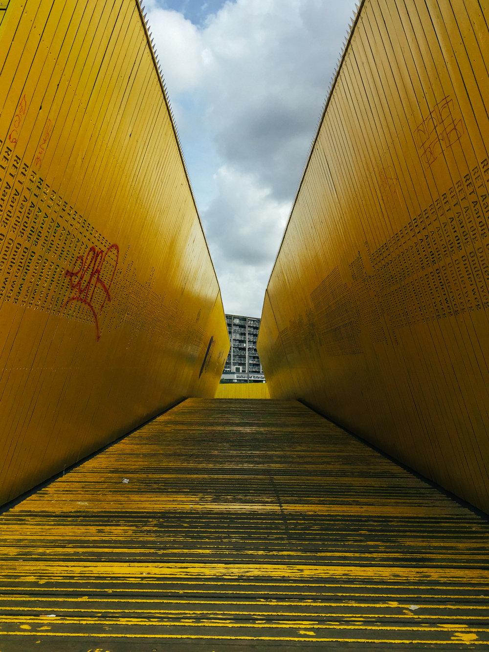 Luchtsingel Bridge