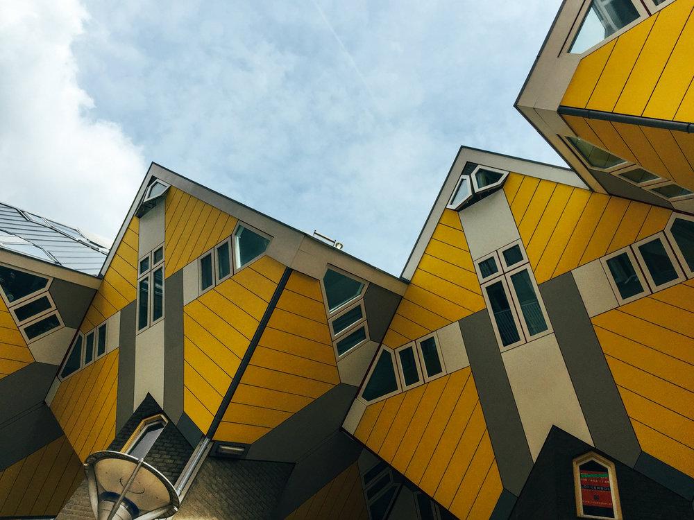 Cubic-houses-row