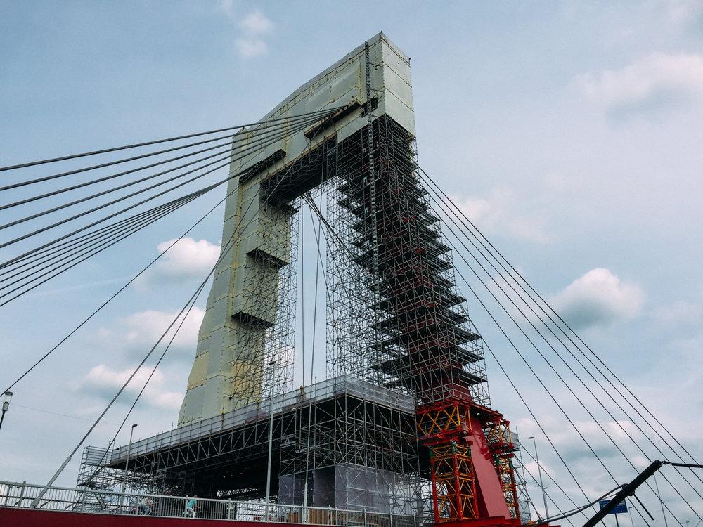 Willemsbrug Bridge Rotterdam