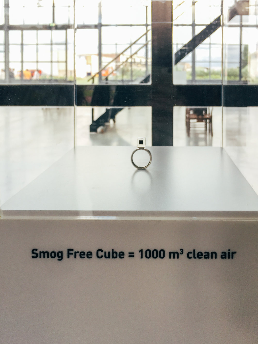 Just one Ring equals 1000 m3 of cleaned air.