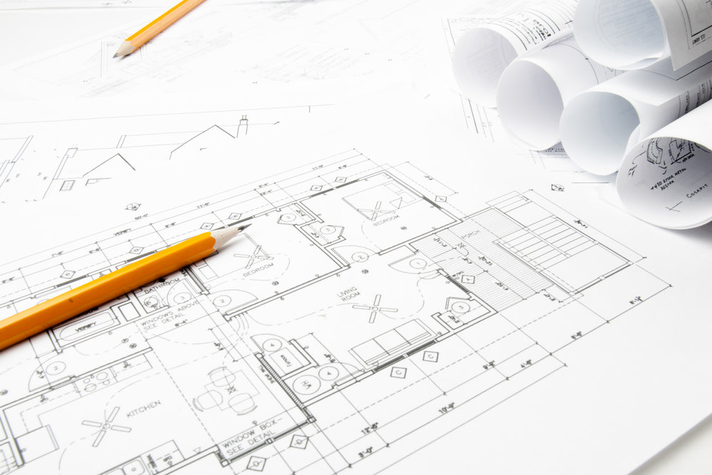 PLAN - We can offer a bespoke design process by interfacing with Architects and Consultants which can help navigate the complicated process of planning to help make it more efficient and effective.Providing drawings and specifications which helps put your vision on paper so that it can be realised when construction is started.