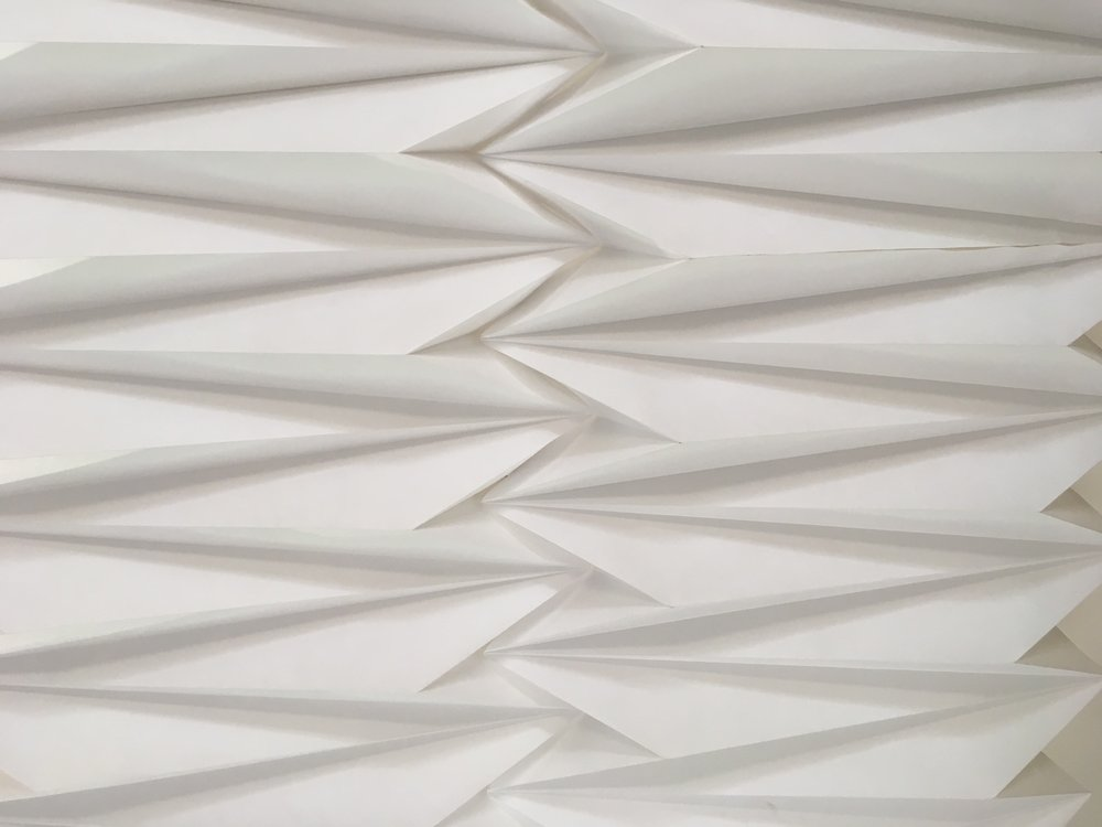 TYVEK ARCHITECTURAL ORIGAMI DETAIL - COMMERCIAL COMMISSION