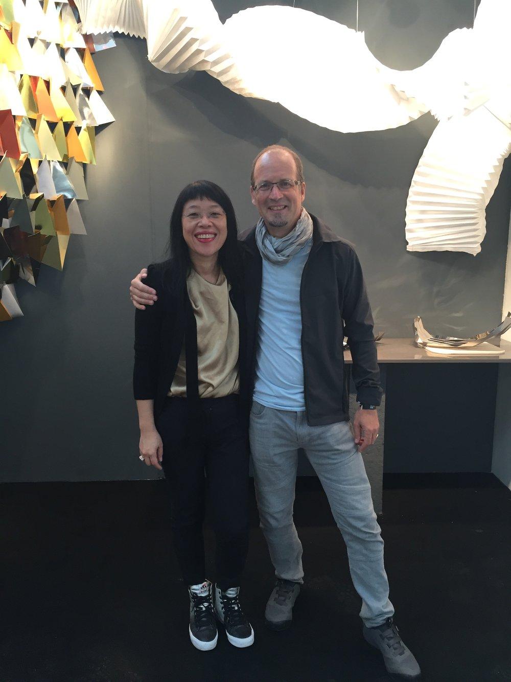 Angela Fung and Ashley Bedord