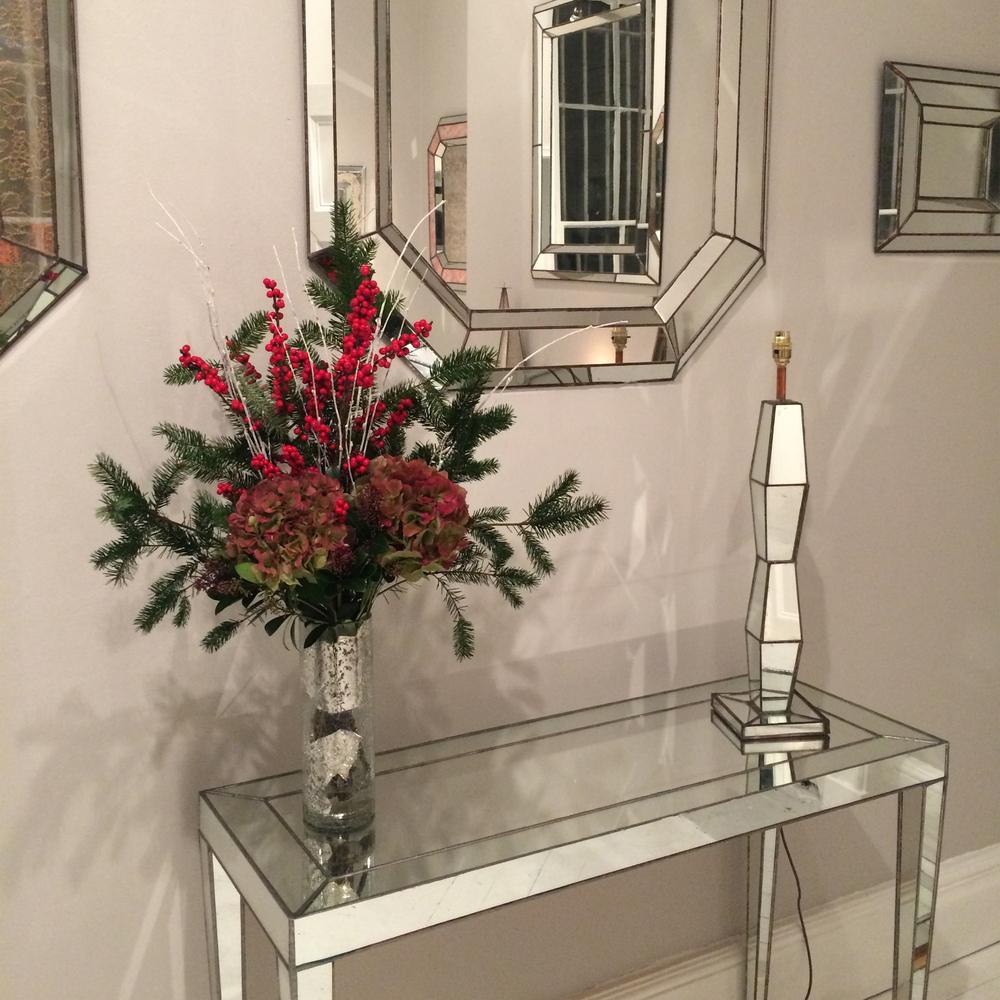 Venetian Console, Harbour Mirror & Brancusi Lamp