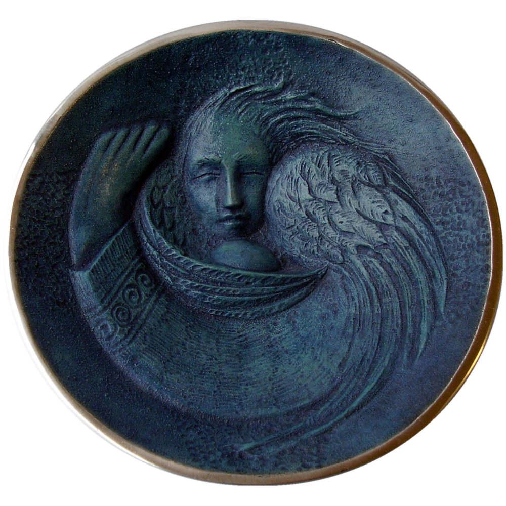 DEMI MASSEY - Angel Egg Bronze Bowl-white-auto-sq.jpg