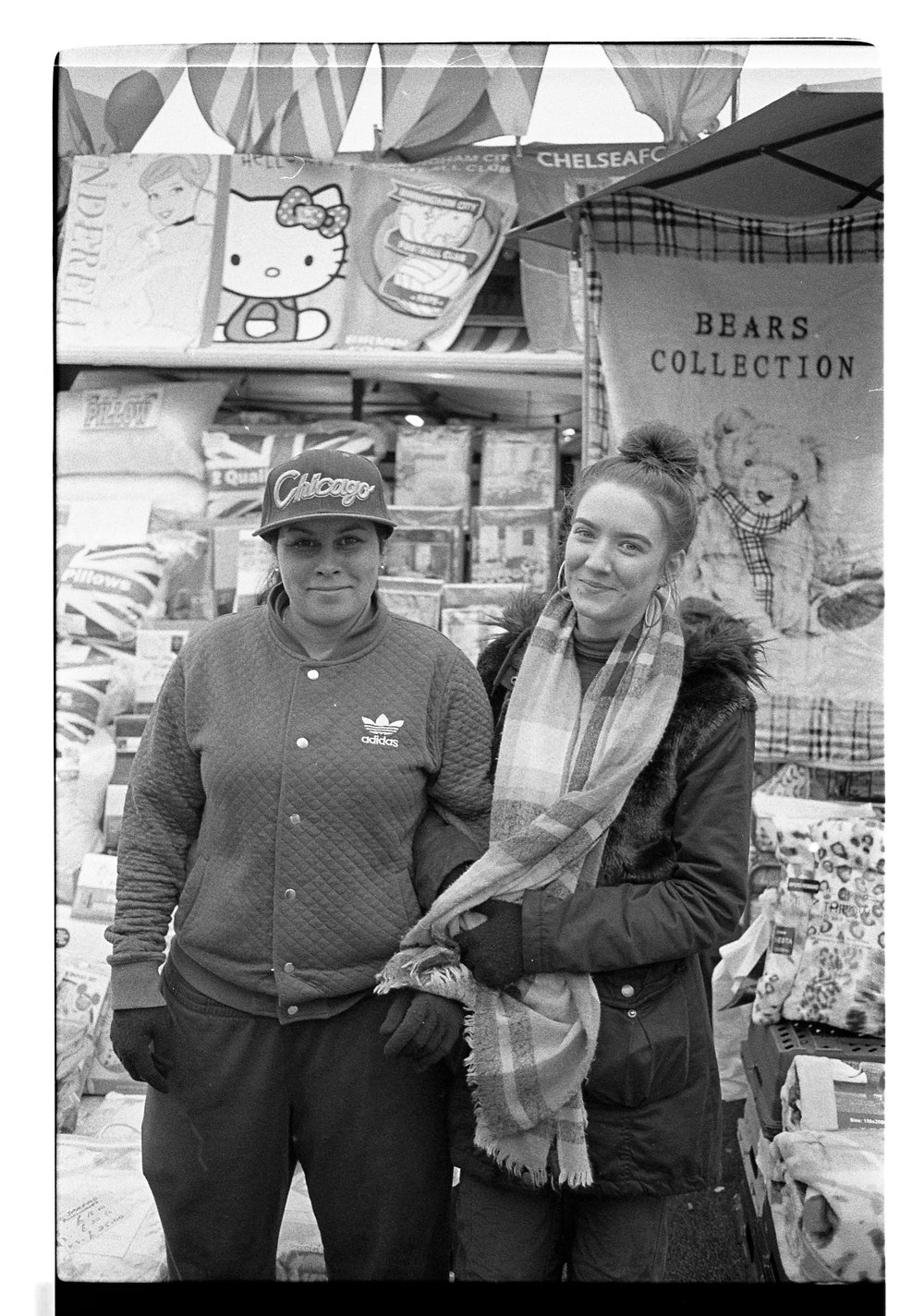 Images of the Birmingham markets and their traders..  ..and my first attempt at developing and scanning.