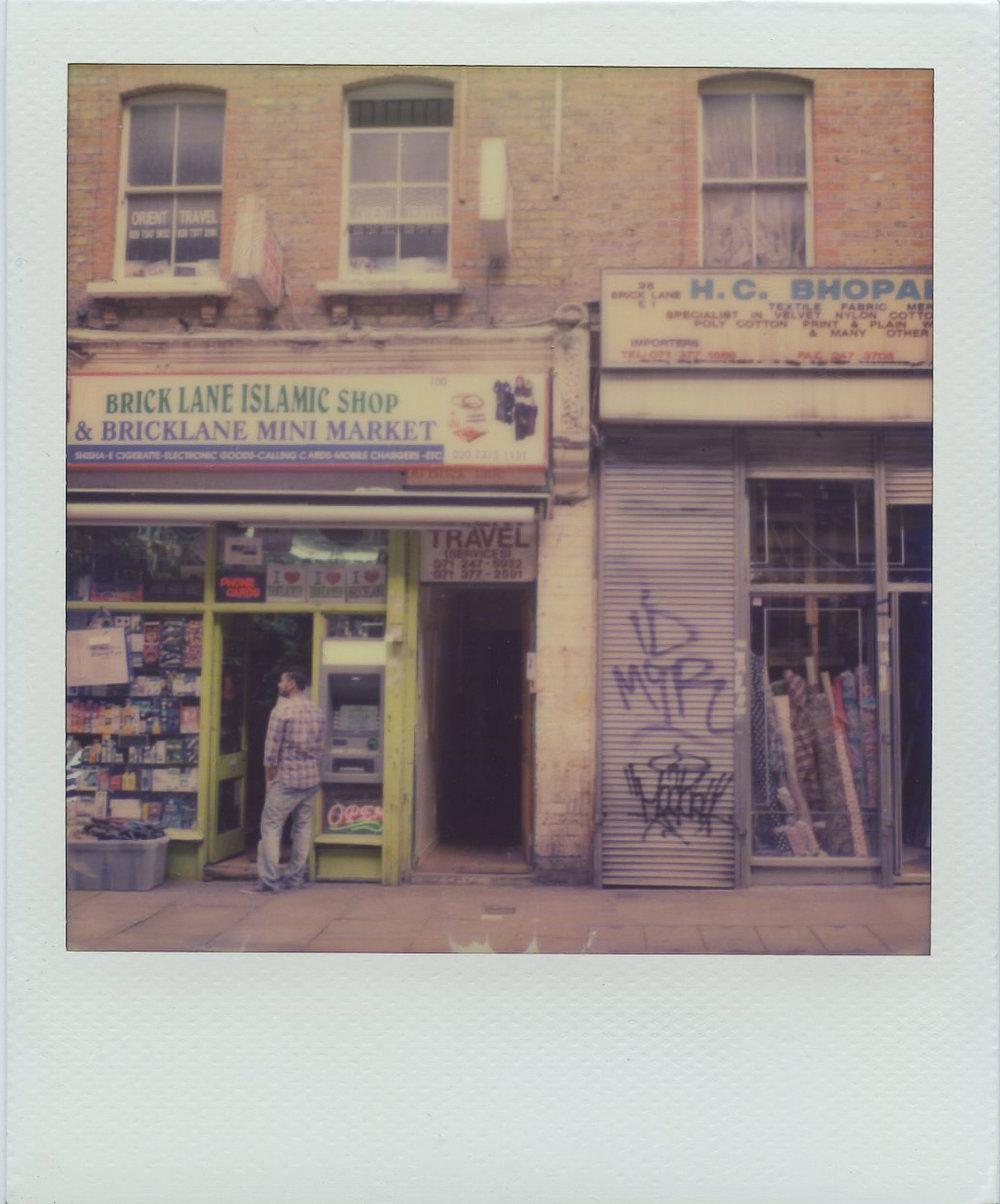 Polaroids shot with an SX-70 camera..