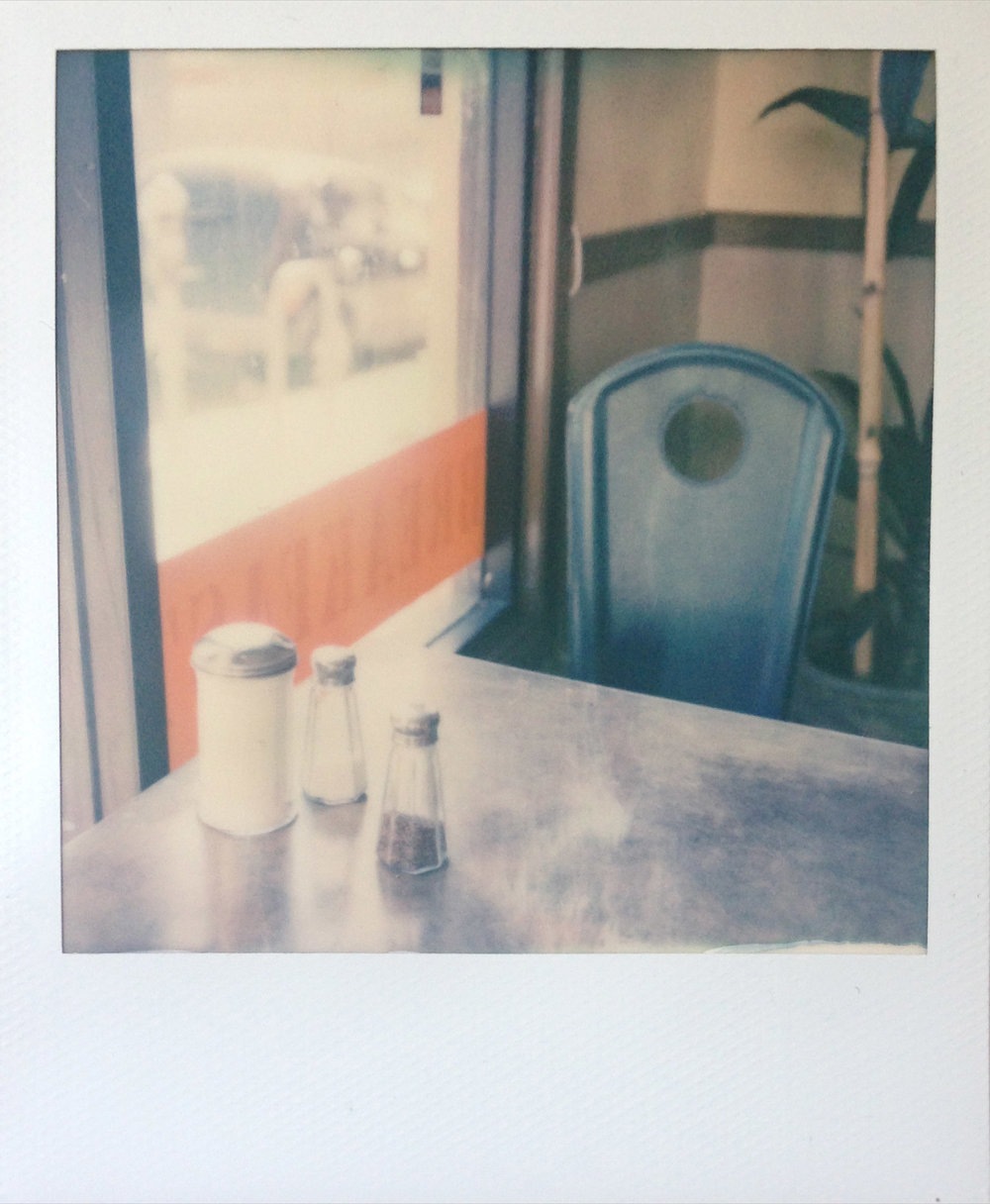 A 365 project shot on polaroid film with an SX-70 camera.